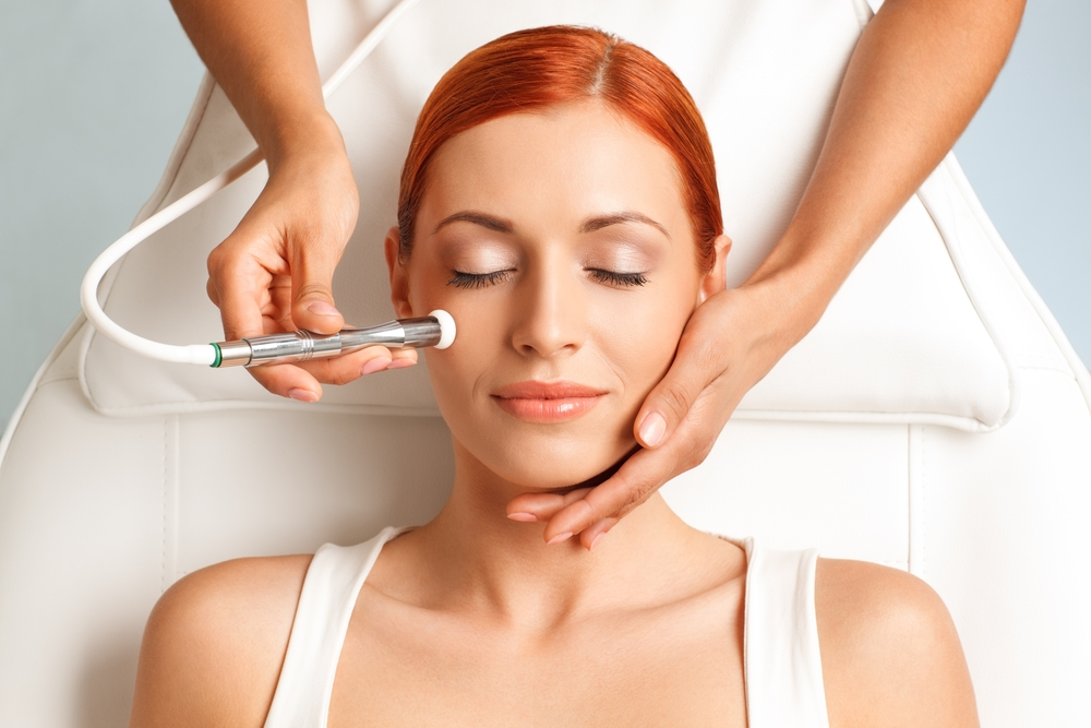 Microdermabrasion is an advanced exfoliating technique.