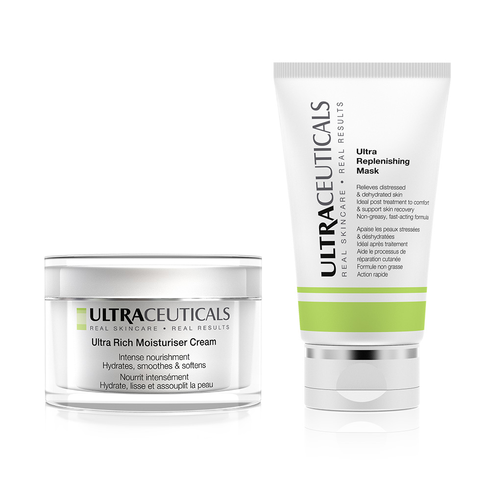 Soothe and nourish skin post-laser treatment