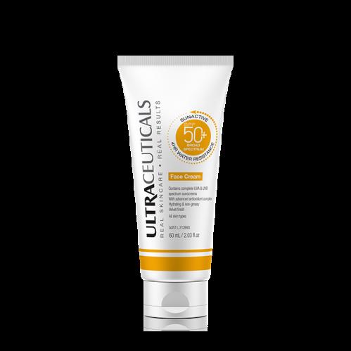 SunActive SPF 50+ Face Cream
